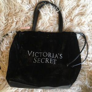 NWT Victoria Secret Velvet Tote